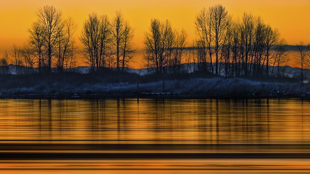Fraser River Sunrise