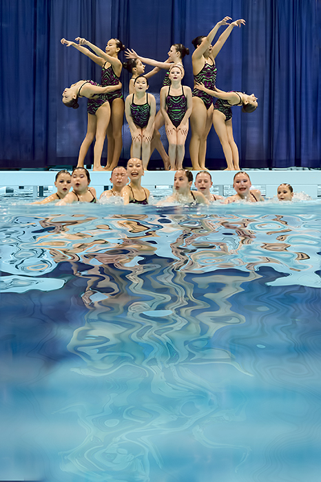 VPW Synchronized Swim Team