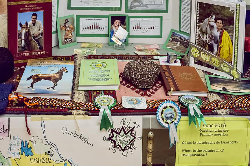 World Expo: Turkmenistan